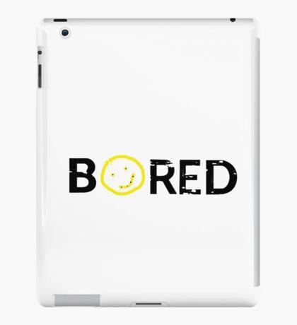 Sherlock - BORED iPad Case/Skin