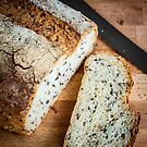 Soy and Linseed Bread by prbimages