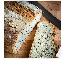 Soy and Linseed Bread Poster