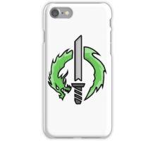 Genji Dragon Blade Logo iPhone Case/Skin