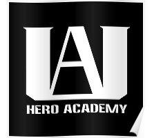 U.A. Hero Academy logo - (My Hero Academia, Boku no Hero Academia, BNHA) Poster