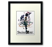 Steins Gate Framed Print
