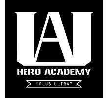 U.A. High Plus Ultra logo - (My Hero Academia, Boku no Hero Academia, BNHA) Photographic Print