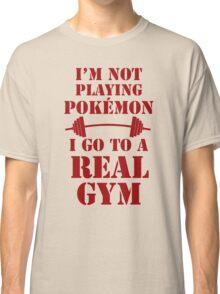 I'm not playing Pokémon - Red Classic T-Shirt