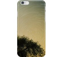 2am Star trail, Night photography, Nature iPhone Case/Skin