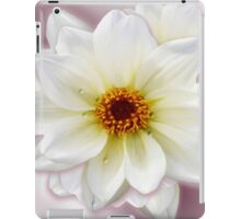 Dew on White Flower iPad Case/Skin