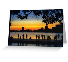 Dance until the Sun Goes Down Greeting Card