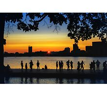 Dance until the Sun Goes Down Photographic Print