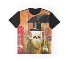 Sir Caveira em Londres Graphic T-Shirt