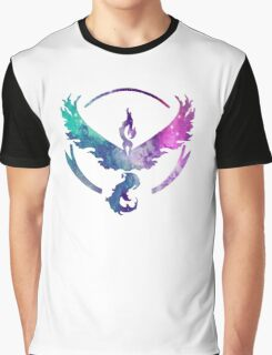 TEAM VALOR - COLORFUL GALAXY Graphic T-Shirt