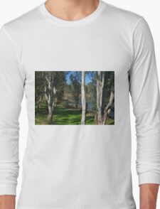 View through the trees Long Sleeve T-Shirt