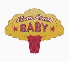 Atom Bomb Baby One Piece - Short Sleeve