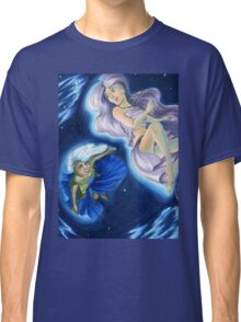 The Planets: Earth and Moon Classic T-Shirt