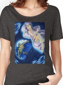 The Planets: Earth and Moon Women's Relaxed Fit T-Shirt