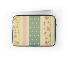 Shabby chic,rustic,grunge,patchwork,girly,cute,floral,polka dots Laptop Sleeve