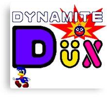 Dynamite Dux - SEGA Master System Title Screen Canvas Print