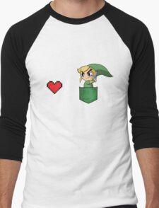 Link - Get the heart Men's Baseball ¾ T-Shirt