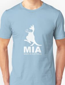MIA - Made in Australia WHITE Unisex T-Shirt