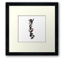 CATWS Chain  Framed Print
