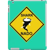 caution-sharknado iPad Case/Skin