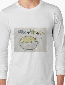 Puffer Fish Long Sleeve T-Shirt