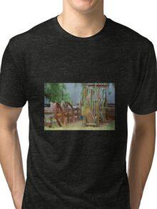 Farm memoribilia Tri-blend T-Shirt
