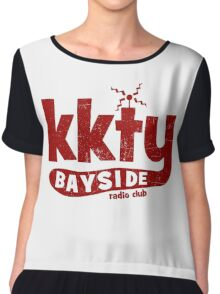 KKTY Bayside - Saved by the Bell Chiffon Top