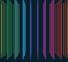 In Rainbows Sticker