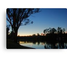 Early morning in the summer  Canvas Print