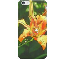 Rainbow Confetti Tiger Lily Bloom iPhone Case/Skin