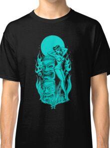 Tiki blue moon Classic T-Shirt