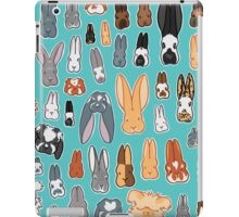 Who's Your Bunny | Show Rabbit Breeds Textile Angora Holland Lop Belgian Hare Rex Rhinelander Dutch Jersey Wooly American Rabbit Breeders iPad Case/Skin