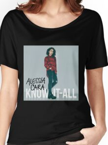 alessia cara know it all album cover gatot Women's Relaxed Fit T-Shirt