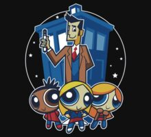 Doctor Who Power Puff by Mia Roberts