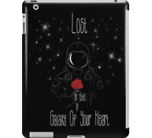 Lost in the galaxy of your heart iPad Case/Skin