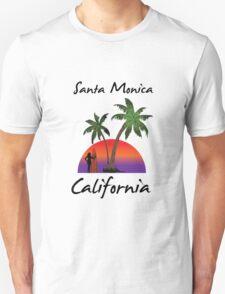 Santa Monica California Unisex T-Shirt
