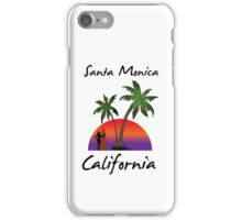 Santa Monica California iPhone Case/Skin