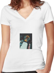 A$AP ROCKY VLONE Women's Fitted V-Neck T-Shirt