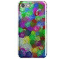bubble flowers iPhone Case/Skin