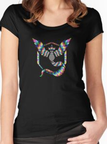 TEAM MYSTIC - PSYCHEDELIC Women's Fitted Scoop T-Shirt