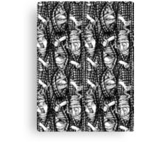 Peek-a-knit Canvas Print