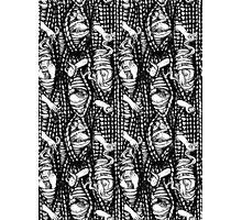 Peek-a-knit Photographic Print