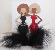 Curvey women cards by Stacy LeGras