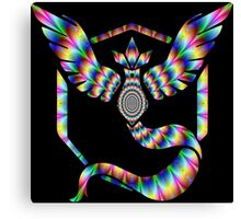 TEAM MYSTIC - PSYCHEDELIC Canvas Print
