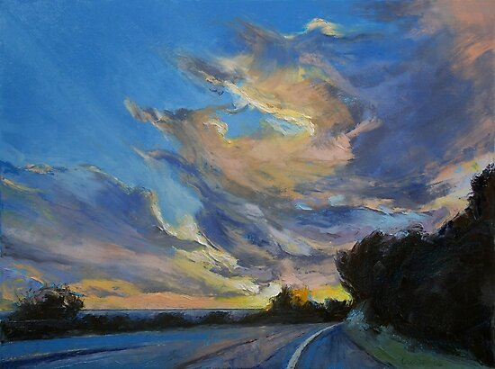 The Road to Sunset Beach by Michael Creese
