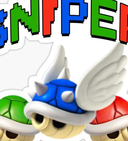 Mario Kart Shell Sniper Sticker