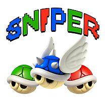 Mario Kart Shell Sniper Photographic Print