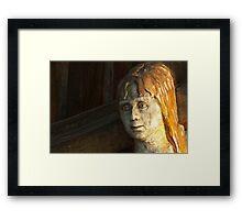 The little mermaid - detail Framed Print