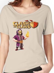 WIZARD CLASH OF Women's Relaxed Fit T-Shirt