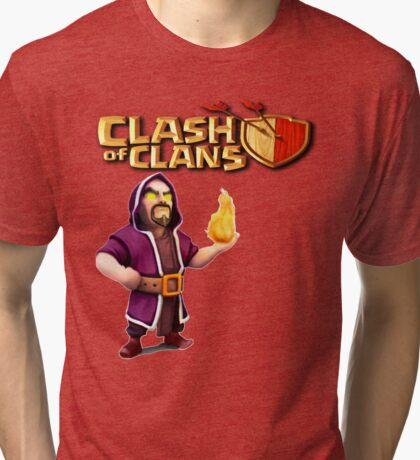 WIZARD CLASH OF Tri-blend T-Shirt